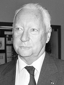 Pierre Messmer en 1988.