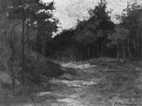 Piet Mondriaan - Wood near Driebergen - A48 - Piet Mondrian, catalogue raisonné.jpg