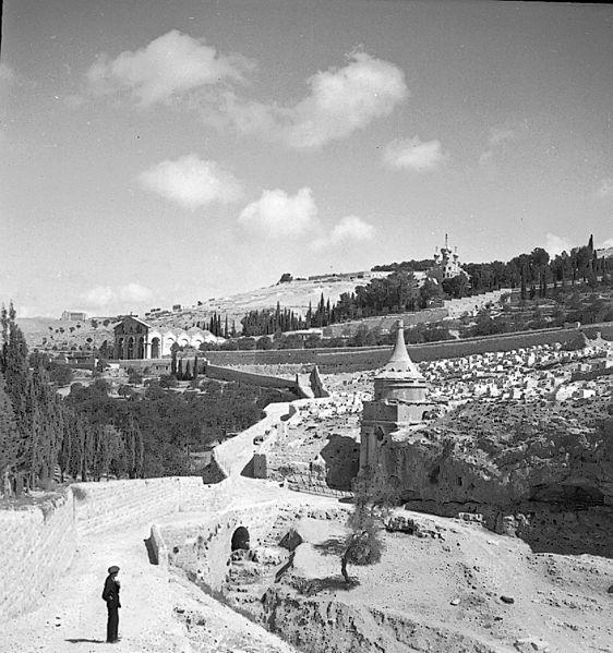 יד אבשלום בירושלים, 1934