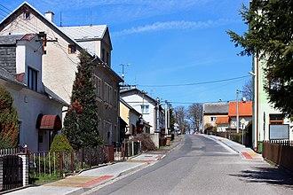Pila (Karlovy Vary District) - Upper part of Pila