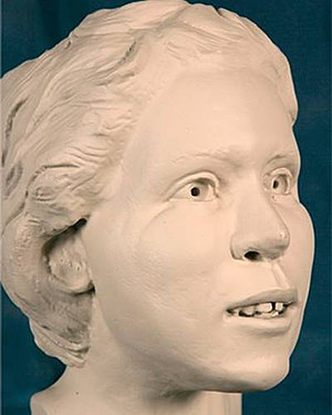 Murder of Deanna Criswell - 3D reconstruction of Criswell, created by the FBI