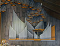 Pipe organ at new Basilica of Our Lady of Guadalupe, Mexico City.jpg