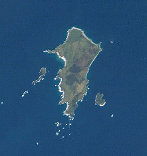 Pitt Island - Pitt Island from space