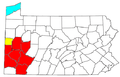 Pittsburgh Metropolitan Area and Pittsburgh-New Castle CSA.png