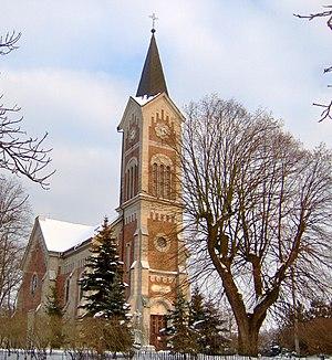 Plášťovce - Cat. church