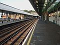 Plaistow station look east.JPG