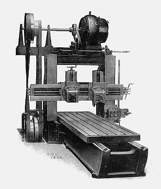 Planer (metalworking) - A typical planer