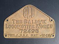 Plaque de constructeur BALDWIN 141-R-685.jpg