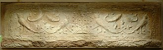 Nishapur - Image: Plaster tile Louvre MET 40 170 166