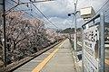 Platform at Katsunuma-budokyo Station 20100403a.jpg