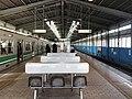 Platform of Osakako Station.jpg