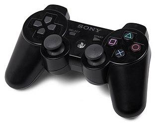 Sixaxis gamepad