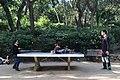 Playing ping pong at Parc Güell, Barcelona, Spain.jpg