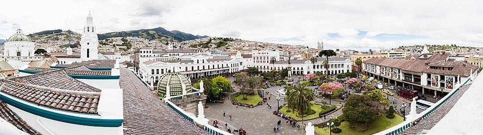 Plaza Grande, Quito, Ecuador, 2015-07-22, DD 81-85 PAN