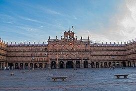 Plaza Mayor de Salamanca - Wikipedia, la enciclopedia libre