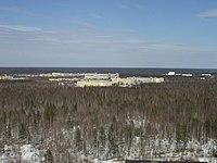Plesetsk satellite assembling facilities.JPG