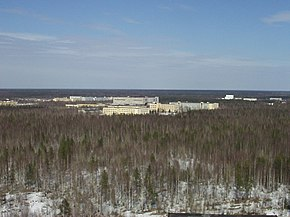 Plesetsk satellite assembling facilities.JPG