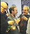 Poeti I.Holin K.Kedrov G.Sapgir v PEN klube1995.jpg