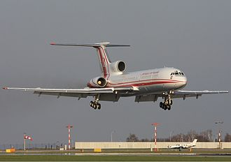 2010 Polish Air Force Tu-154 crash - PLF 101 landing at Prague Airport less than two days before the accident