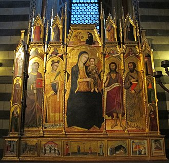 Andrea Vanni - Polyptych of San Stefano