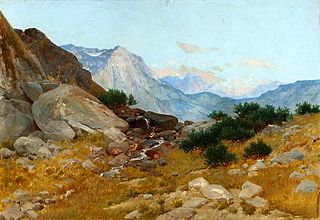 Landscape from the Tatras.