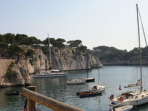 Cassis - Port-Miou calanque in Cassis