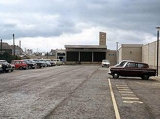 Portadown railway station - Portadown new station in 1970