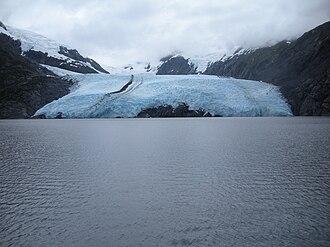 Portage Glacier - Portage Glacier in 2009