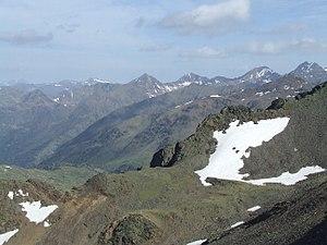 GR 11 (Spain) - The Portella de Baiau, between Andorra and Spain, on the GR11 footpath