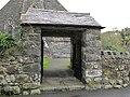 Porth Mynwent Eglwys St Ioan Llanystumdwy St Johns Church Lychgate (geograph 2668550).jpg