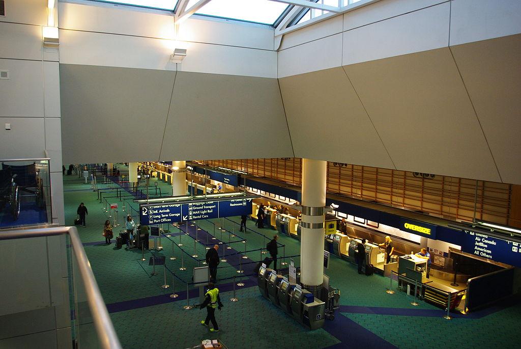 Portland International Airport in Oregon