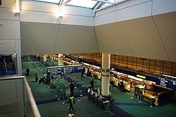 Portland International Airport ticket counters - Oregon.JPG