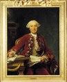 Porträtt. Ulrik Scheffer, greve, kanslipresident, 1716-1799 - Skoklosters slott - 13359.tif