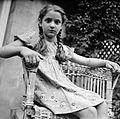 Portrait, kid, wicker chair Fortepan 8297.jpg