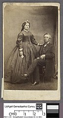 John Hartley with his wife