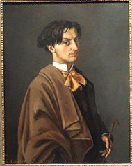 Portrait of M. Nodler, the Younger, by Gustave Courbet, 1865 - Museum of Fine Arts, Springfield, MA - DSC04118.JPG