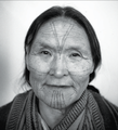 Portrait of an Inuit woman, 1945, by Henry Busse.png