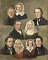 Portret van de ouders van de kunstenaar, Douwe Martens Teenstra en Barber Hindriks Siccama, en familieleden Rijksmuseum SK-A-3515.jpeg