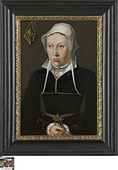 Portrait of the wife of Jan de Fevere