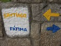 Portugal (Porto) Porto is the middle of the two pilgrimage towns, Fatima and Santiago de Compestala (36242643785).jpg