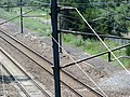 Possible station platform remains at Bradford, July 2012.JPG