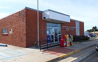Tecumseh, Oklahoma - Post Office in Tecumseh, Oklahoma