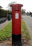 Post box at Hillcrest Drive, Greasby.jpg