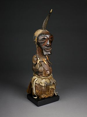 Nkisi - A male nkisi of the Songye in the collection of the Birmingham Museum of Art