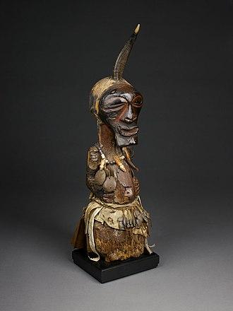 Nkisi - Image: Power Figure (Nkishi)