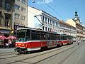 Praha, souprava tramvají Tatra T6A5.jpg