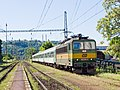 Praha-Bubeneč, trať 091, lokomotiva 162.040.jpg