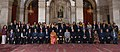 Pranab Mukherjee in a group photograph with the Indian Silicon Valley Entrepreneurs Technologists and Venture Capitalists, at Rashtrapati Bhavan, in New Delhi. The Secretary.jpg