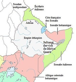 Pre Adowa Situation (1896) in the Horn of Afri...