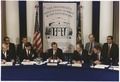 President Bush attends the seond working session of the Education Summit in Charlottesville, Virginia - NARA - 186401.tif